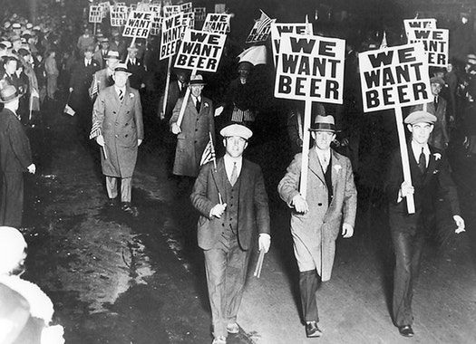March to end prohibition, 1931.